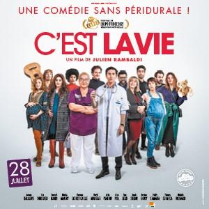Une affiche du film C'EST LA VIE