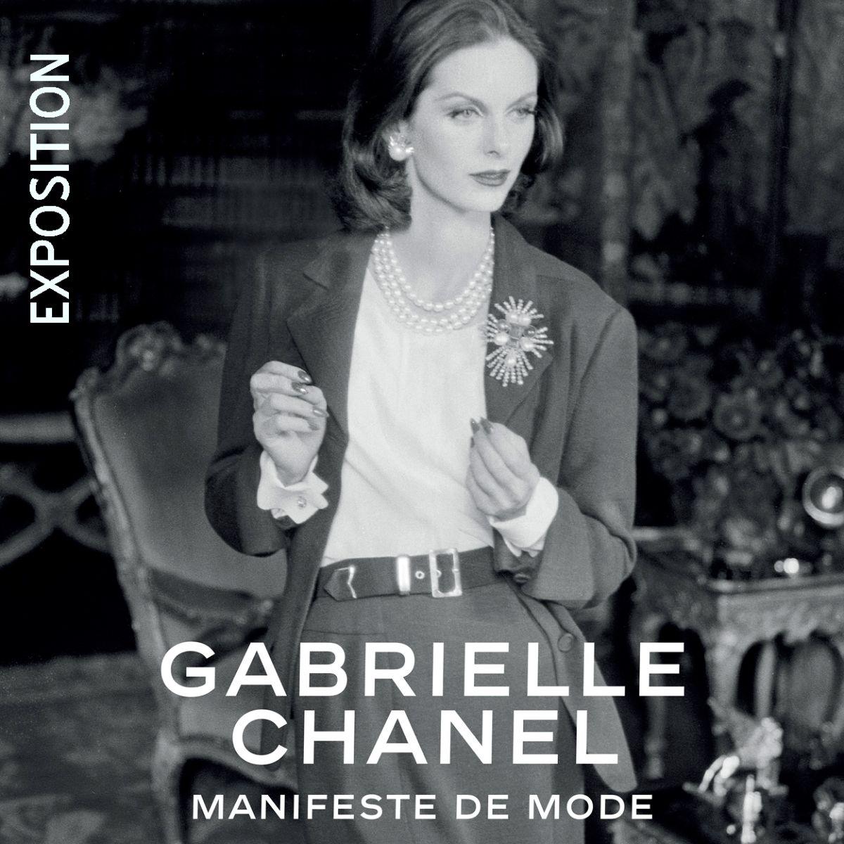 Un laissez-passer pour l'exposition GABRIELLE CHANEL. Manifeste de mode