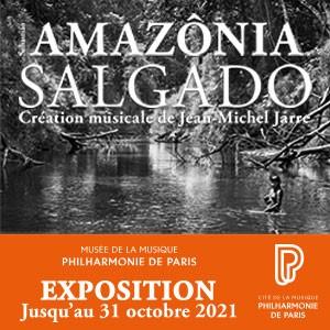 Un laissez-passer pour l'exposition AMAZÔNIA SALGADO