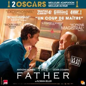Une affiche du film THE FATHER