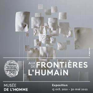 Un laissez-passer pour l'exposition AUX FRONTIÈRES DE L'HUMAIN