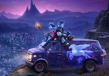 En avant, le nouveau film Pixar dévoile une bande annonce