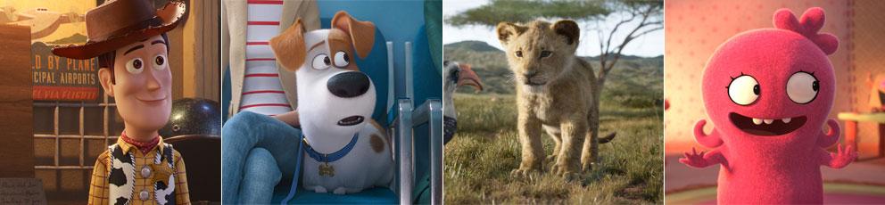Les films à voir en famille durant l'été 2019