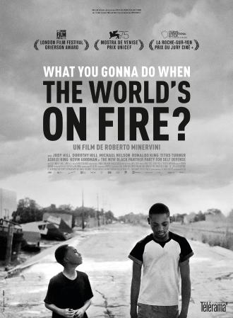 WHAT YOU GONNA DO WHEN THE WORLD IS ON FIRE ?