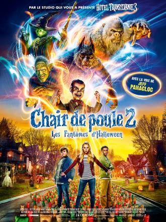 CHAIR DE POULE 2 : LES FANTOMES D'HALLOWEEN