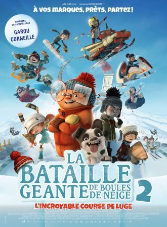 LA BATAILLE GEANTE DE BOULES DE NEIGE 2