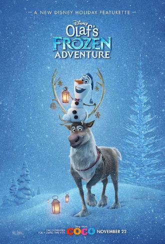 JOYEUSES FETES AVEC OLAF