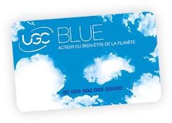 Carte UGC Blue