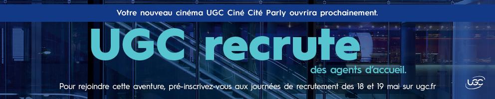 Venez rejoindre les équipes UGC
